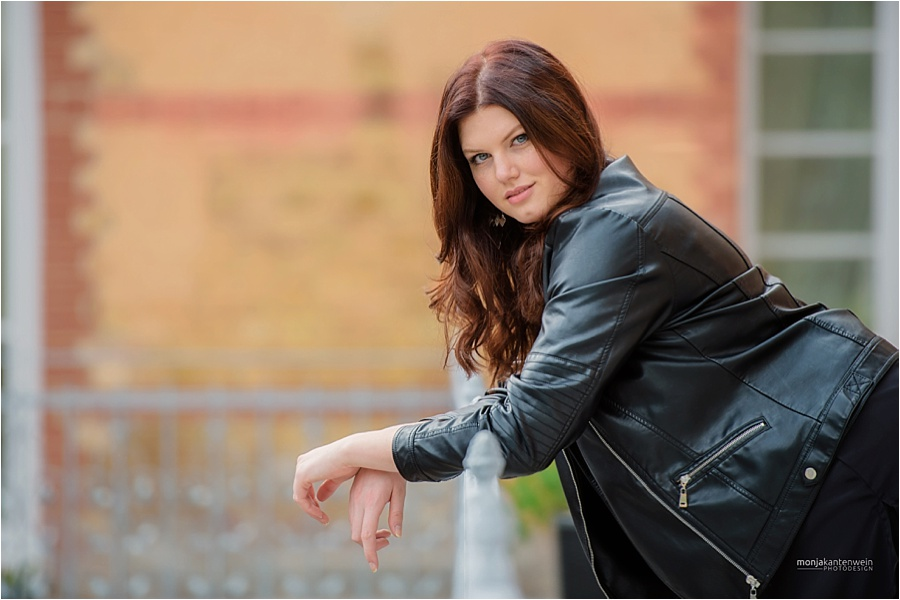 Fabienne Klamandt im lässigen Look Foto: Monja Kantenwein